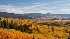the grand finale (laura's Point of View) Tags: autumn sky mountains color nature landscape jackson valley bigsky wyoming aspen grandtetonnationalpark lauraspointofview lauraspov