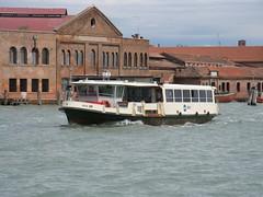 """ACTV Serie """"100"""" vaporetto no. 29, off Murano (michaelday_bath) Tags: venice venezia actv vaporetti"""