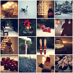 Happy Holidays !! (JorunnSjofn) Tags: christmas xmas winter holiday canon iceland dof bokeh reykjavik collection happyholidays 2011 jorunn christmascollection