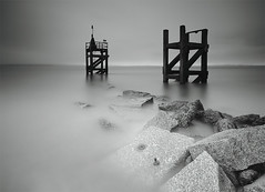 RAINED OFF (Steve Boote..) Tags: longexposure sea seascape tower rain coast harbour cumbria coastline gitzo pontoon drizzle solway silloth dumfriesandgalloway sigma1020 northwestengland shiteweather leefilters canoneos7d steveboote hitechpro10nd protechfilters