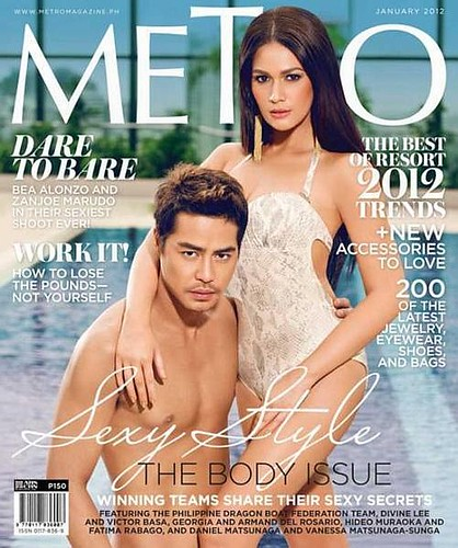Metro Magazine - Bea Alonzo and Zanjoe Marudo