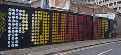 Ben Eine (lewis wilson) Tags: urban london giant graffiti paint ben shutters eastbourne letter eine
