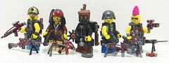 Urban/Apoc Barf (Silenced_pp7) Tags: pink urban shells brick skulls skull glasses belt hit team blood flask desert arms flat lego eagle fig top pirates bat apocalypse knife belts shades camo barf pirate sniper mohawk warrior blade minifig bloody forge minifigs shotgun terminator squad custom combat flattop figures vignette aviators diorama figs weapons cammo minifigure havoc apoc moc deagle skullz tactical minifigures m67 ac8 hitteam brickarms combatknife brickforge hitsquad brickarm brickwarrior minifigcat mercenarys figbarf apocbarf brickwarriors minifigbarf