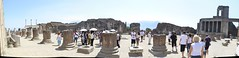 Pompei: Temple Ruins Panorama (SpirosK photography) Tags: panorama heritage temple ruins stitch pompeii pompei microsoftice archeologicalspace archaeologicalspace