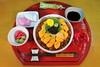 Homemade Kaisendon (♥ Spice (^_^)) Tags: pink red food white black green yellow japan canon geotagged eos asia sashimi beverage plum homemade sake 7d 日本 chopstick soysauce wasabi ume 食べ物 緑 酒 seaurchin 醤油 nihonshu 手作り saitamaken 梅 caviar salmonroe 日本酒 写真 うに 黄色 白 japanesecuisine はし いくら 元旦 赤 kamaboko 埼玉県 kohaku 和食 めでたい 箸 わさび 雲丹 kaisendon 黒 かまぼこ 蒲鉾 山葵 飲み物 うめ japanesealcohol medetai キャノン 春日部市 kasukabeshi ピンク イクラ カラー ウニ ワサビ ハシ 黄白 キャビア きゃびあ メデタイ homemadekaisendon