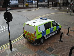 West Midlands Police Peugeot Expert BV57 WGM (F325) (wicked_obvious) Tags: roof west code police peugeot midlands expert f325 bv57wgm
