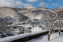 Kosovo Village - Rhodopes - Bulgaria (Been Around) Tags: schnee trees winter snow tree garden europa europe hiver travellers eu bulgaria kosovo garten baum neujahr 2012 bulgarien  5photosaday jnner rhodopi  rhodopemountains thisphotorocks rhodopen worldtrekker bauimage kosovovillage