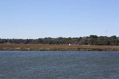Pin Point in the distance (peachy92) Tags: river georgia chatham rivers savannah moonriver savannahga chathamcounty savannahgeorgia johnnymercer chathamcountygeorgia chathamcountyga foursquare:venue=4c390b890a71c9b6f4df41c9