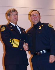 (charlottefire) Tags: family friends chief badge captain capt promotions cermony promtion