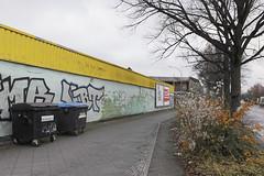 Gottlieb-Dunkel-Straße (S. Dekind) Tags: berlin tempelhof mülltonnen gestrüpp