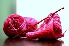 خيوط (salMaaaN) Tags: وردي احمر غزل زهري نسيج حياكة