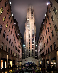 New York City - The Rock (Surrealplaces) Tags: new york city newyorkcity urban newyork skyline night centralpark gotham brookylnbridge