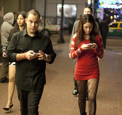 Text me later (San Diego Shooter) Tags: girls portrait girl legs sandiego streetphotography downtownsandiego sandiegonightlife sandiegopeople sandiegostreetphotography gaslampquartersandiego