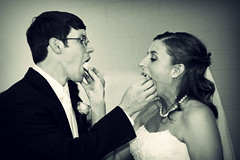 Mmmmmm! (Mindubonline) Tags: wedding church cake groom bride tn nashville tennessee ceremony marriage reception bouquet nuptials mindub mindubonline timhiber