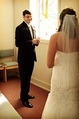Couldn't be any happier... (Mindubonline) Tags: wedding church cake groom bride tn nashville tennessee ceremony marriage reception bouquet nuptials mindub mindubonline timhiber