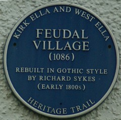 Photo of Richard Sykes blue plaque