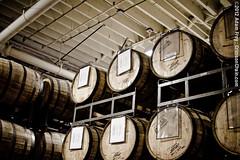 Barrelled beer in the Sam Adams Brewery (Boston) (crimsonchain) Tags: beer boston ma barrels brewery aged samadams ales