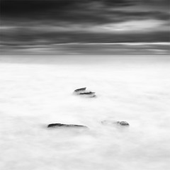 _ - _ (DavidFrutos) Tags: longexposure sea bw costa seascape beach water monochrome rock clouds sunrise square landscape monocromo coast mar interestingness agua rocks playa paisaje bn explore murcia amanecer filter le lee nubes canondslr roca rocas 1x1 filtro largaexposicin filtros calblanque neutraldensity canon1740mm gnd8 graduatedneutraldensity densidadneutra interesantsimo davidfrutos 5dmarkii niksilverefexpro hitechgnd09reverse