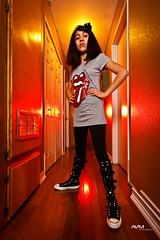Rockin!!! (G60Pulse) Tags: california losangeles tshirt hallway converse rollingstones chucktaylors
