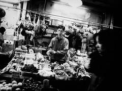 face off (liver1223) Tags: street city 2 people blackandwhite bw photo interestingness interesting shot market snap hong kong explore gr mongkok ricoh grd explored blackwhitephotos