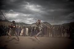 combat donga (hamerscat) Tags: ethiopia surma donga