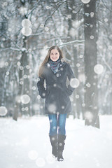 Nina ([]NEEL[]) Tags: winter portrait snow girl outdoor