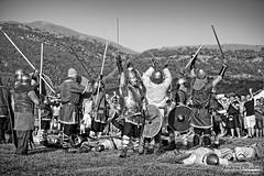 Montelago Celtic Festival 2011 (Andrea Cittadini Photography) Tags: white black photography battaglia storia romani ricostruzione storica germani longobardi legionari