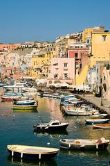 Procida (Danil) Tags: houses italy fish boat fishing colorful mediterranean campania harbour daniel napoli naples cape napels miseno bosma vivara procia