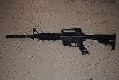 Marked Bushmaster version of an AR-15 Assault ...