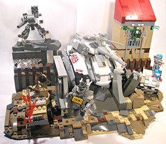 Fighting the Apocalypse (ick') Tags: world war tank lego iii apocalypse vehicle guns drone