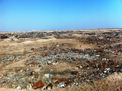 Uncontrolled Waste Dumping, Fao Peninsula, Iraq