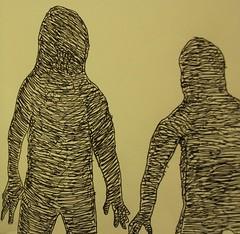Faceless Entities (Van Pelt1) Tags: shadow sketch body drawing fear ghost dream anatomy unknown horror faceless form nightmare phantom shape occult threaten entity facelessentities