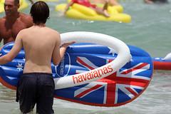 Havaianas 2012 Australia Day Thong Challenge (Eva Rinaldi Celebrity and Live Music Photographer) Tags: thong havaianas australiaday bondibeach challenge 2012 jamesmathison evarinaldi