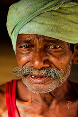 The lines of time... (Rakesh JV) Tags: life street old portrait india man color up photography eyes nikon tears sad close expression indian ngc 85mm age nikkor f18 chennai tamil jv outskirts annoyed nadu rakesh cwc rjv mushtache padappai d7000 chennaiweekendclickers aapur