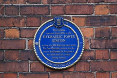 Photo of Hydraulic Power Station blue plaque
