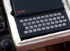 Sinclair ZX81 Vintage Computer (Trojan_Llama) Tags: vintage computer 50mm sale sinclair zx81 f17 pentaxm k110d