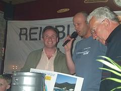 2003 Het trekkingscommité; dhr. Geesink, Jan Odink en Derk Runhaar