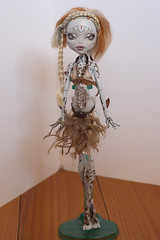 FA OOAK MH Lagoona (Hiritai) Tags: monster high doll dolls customized custom mh customised repaint lagoona repainted