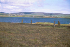 2000-08-19 055 Ring of Brodgar and Loch of Stenness (martyn jenkins) Tags: neolithic ringofbrodgar orkneys orkneymainland