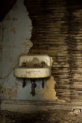 IMG_1511 (jalmond123) Tags: wood abandoned bathroom sink plaster