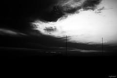 (Ana De Rosas) Tags: ocean sky blackandwhite blancoynegro argentina clouds 35mm atardecer monocromo mar buenosaires nikon foto panoramic bn cielo desenfoque nubes tormenta fotografia panormica sentimiento mypocket enfoque incoloro nikond40