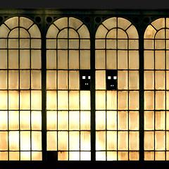 austerlitz (jegeor) Tags: street urban orange abstract black paris france reflection texture window lines architecture train jaune canon french soleil noir day angle gare lumire couleurs angles ombre jour line moderne reflet lumiere repetition 5d reflexions fentre reflets btiment couleur ville faade mtal immeuble vitres verre carr urbain vitre rflection rflexion 75013 13eme 5d2 5dmkii jegeor