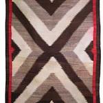 "<b>Classic Navajo Rug</b><br/> ""Classic Navajo Rug"" Weaving, ca. 1910-1920 LFAC # 2003:12:11<a href=""http://farm8.static.flickr.com/7025/6852265883_c885fc0db0_o.jpg"" title=""High res"">∝</a>"