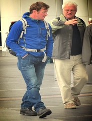 (ManontheStreet2day) Tags: male daddy dad boots hunk crotch jeans bluejeans stud bulge