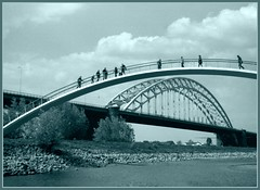 Two bridges (erwinruys) Tags: agilux agifold