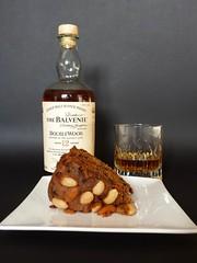 127/366: Scottish Pairing - Flickrfriday (Den's Lens 2000) Tags: cake dundee whisky singlemalt pairing speyside balvenie flickrfriday 366the2016edition 2016onephotoeachday project3662016