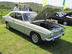Ford Capri 1600 XL BLJ445K (Andrew 2.8i) Tags: ford capri mark 1 mk1 1600 16 classic sports car club international cci nationals national award awards show concours delegance evesham badgers hill sheriffs lench worcestershire coupe mk sportscar hatch hatchback engine motor xl 1600xl auto automatic all types transport