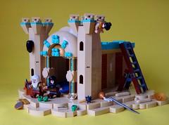 Dignity (simplybrickingit) Tags: uk castle fun lego arabian moc 2016 minifigures