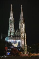 Night visions (Txulalai) Tags: vienna wien travel church austria cathedral sony catedral iglesia nocturna viena votiva iglesiavotiva sonyalpha6000 sonya6000 sonyilce6000