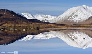 Rannoch Moor, Glencoe, Scottish Highlands. Looking towards black mount.